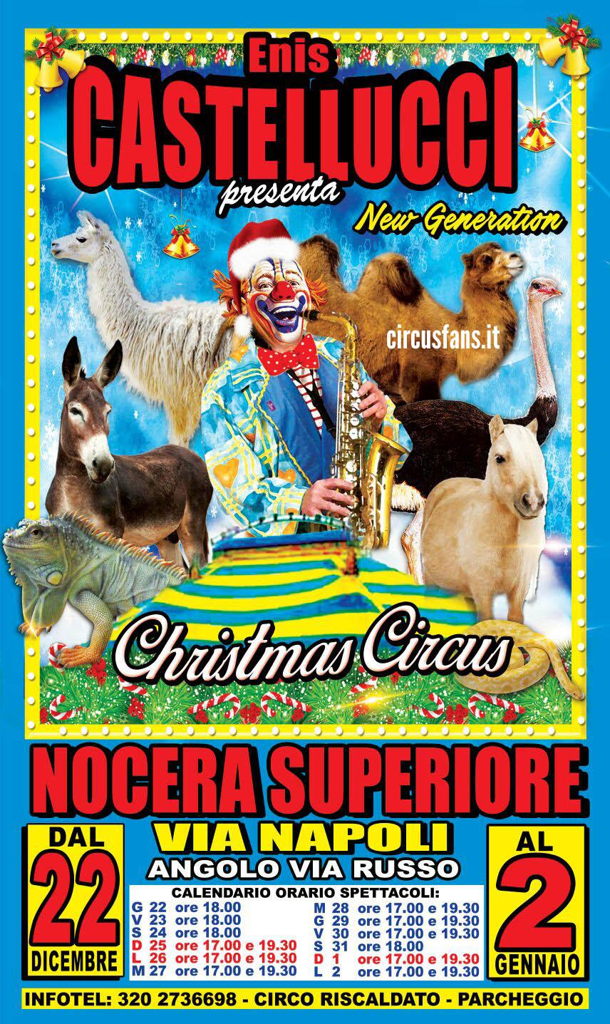 Circusfans italia le piazze di natale nel sud italia for Sud arredi nocera superiore