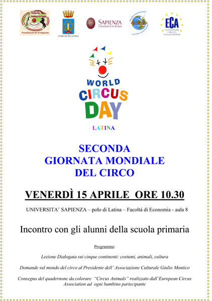 Circusfans Comunicato Anche A Latina La Giornata Mondiale Del Circo