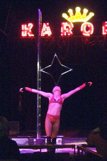 uan delle artiste del circo